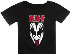 Kiss Baby T-shirt Demon Child