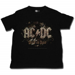 ACDC Kids T-Shirt Rock or Bust ACDC