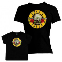 Duo Rockset Guns N' Roses Mother's T-shirt & Guns N' Roses T-shirt Baby