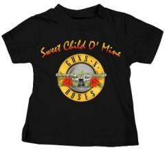 Guns and Roses Kids T-Shirt Bullet Sweet Child
