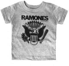 Ramones Kids T-Shirt Gray