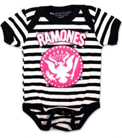 Ramones Babygrow Pinned