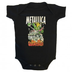 Metallica baby romper Gimme fuel (Clothing)