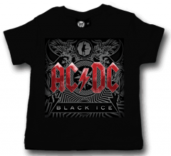 ACDC Baby T-shirt Black Ice ACDC (Clothing)