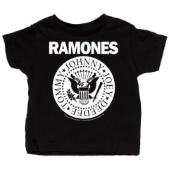 Ramones Baby T-shirt Full White