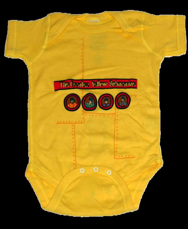 Beatles Baby Grow Yellow Submarine
