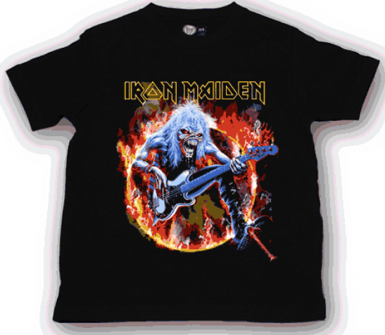 Iron Maiden kinder T-shirt FLF (Clothing)