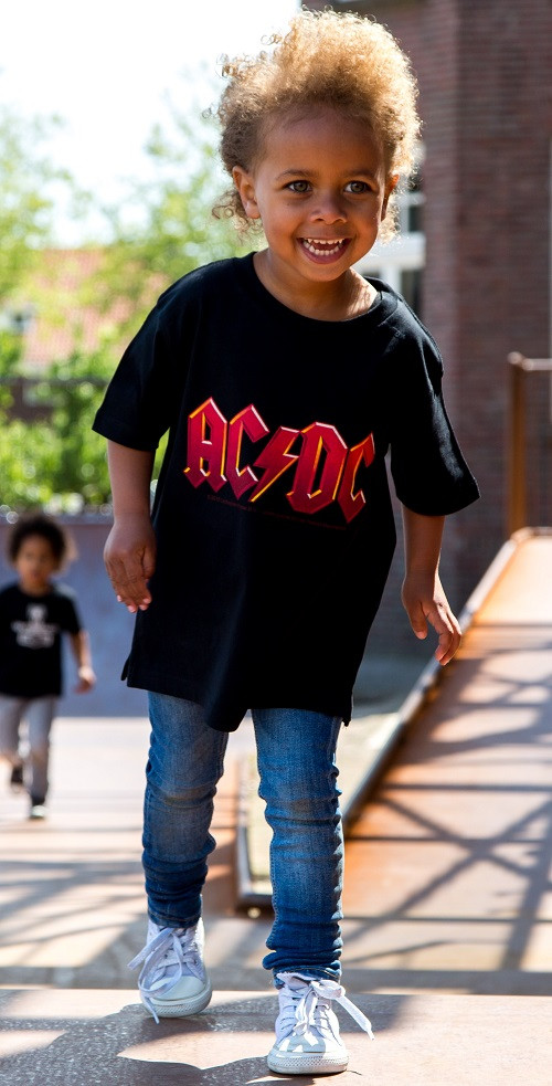 ACDC Kids clothes photoshoot outdoor