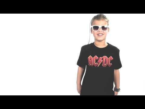 ACDC Kids T-Shirt Logo colour ACDC