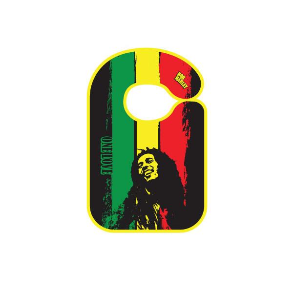 Rock baby bib Bob Marley One love