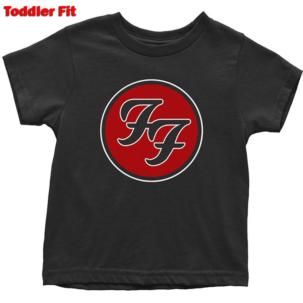 Foo Fighters Kids T-shirt Logo Red