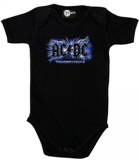 ACDC Baby Onesie Thunderstruck