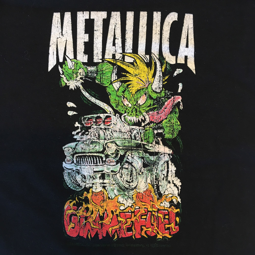 Metallica baby romper Gimme fuel (Clothing) Close up