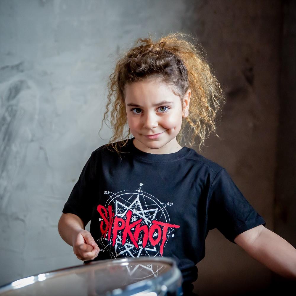 Slipknot Kids T-shirt Scribble fotoshoot