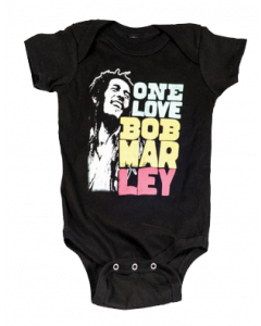 Bob Marley Baby Grow Smile Love