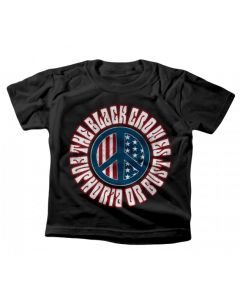 The Black Crowes Kids T-Shirt Peace