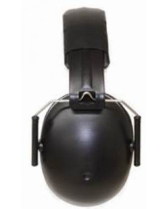 BabyBanz Kids Earmuffs Black