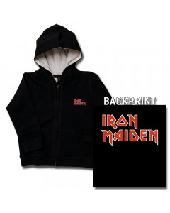Iron Maiden Kids Hoody Zip Logo (print on demand)
