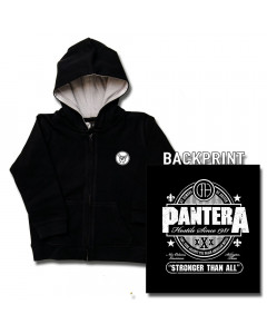 Pantera Kids Hoody Zip Stronger than (print on demand)