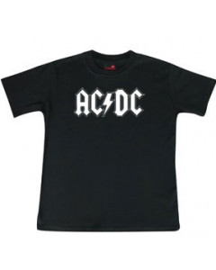 ACDC Kids T-Shirt Logo white ACDC