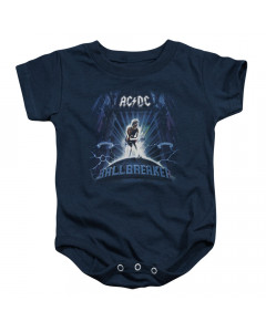 AC/DC baby onesie Ballbreaker Blue
