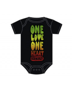 Bob Marley Baby Grow One Love One Heart