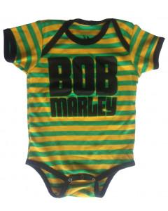Bob Marley Baby Grow Jamaica Stripe