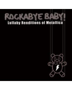 Rockabyebaby Metallica CD