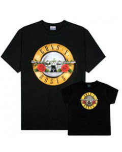 Duo Rockset Guns 'n Roses Father's T-shirt & Kids T-Shirt