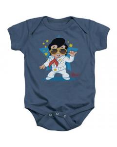 Elvis Baby Grow Singing Blue