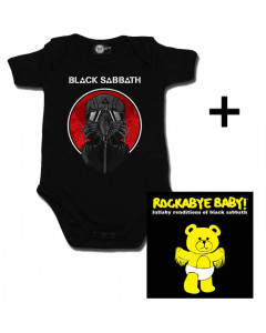Baby rock giftset Black Sabbath Baby Grow 2014 & CD