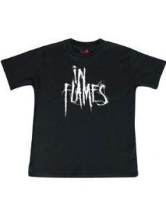 In Flames Kids T-shirt Logo In Flames