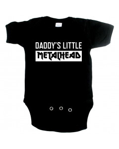 Metal babygrow daddys little metal head
