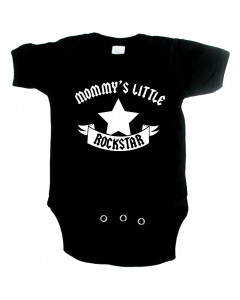 Rock babygrow mommy's little rockstar