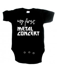 Metal babygrow my first metal concert