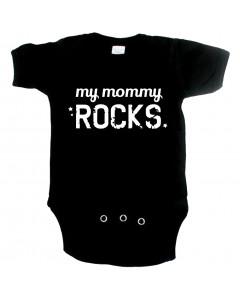Cool babygrow my mommy rocks