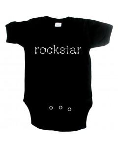 Rock babygrow rockstar