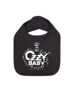Ozzy Osbourne Baby Rock Bib
