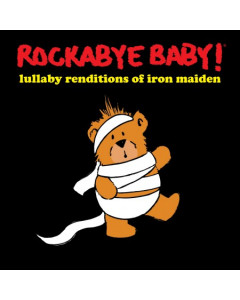 Rockabyebaby Iron Maiden CD