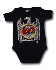 Slayer Baby Grow Silver Eagle