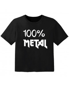 Metal baby t-shirt 100% metal