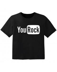 rock kids t-shirt you rock