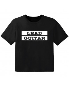 rock kids t-shirt lead guitar