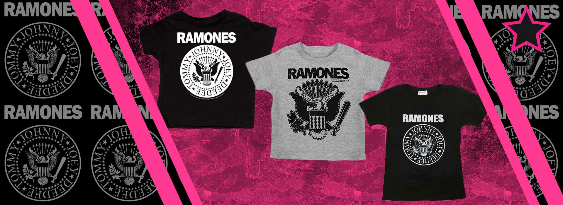 Ramones Rockin' kids and baby clothes