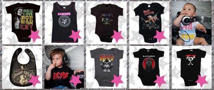 shop rock baby clothes